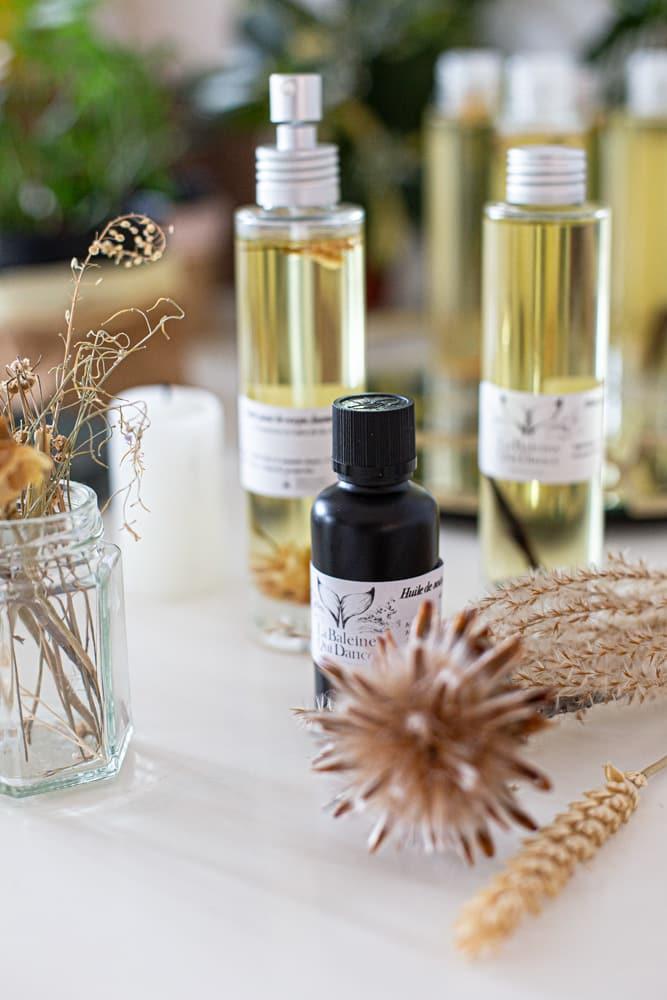 huile de soin pour les cheveux